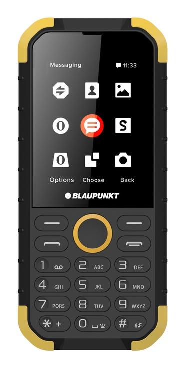 Mobilais telefons Blaupunkt Sand, melna/dzeltena, 32MB/32MB