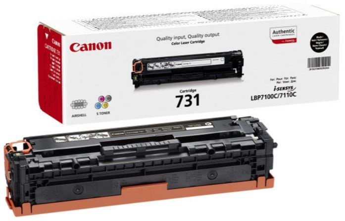 Canon 731H BK Toner Cartridge Black
