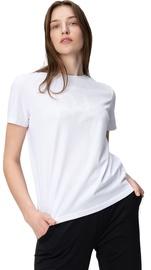 Audimas Womens Short Sleeve Tee White Printed L