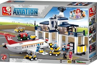 Sluban Aviation Aircraft Maintenance Base 826pcs M38-B0373