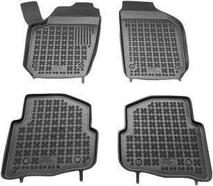 Резиновый автомобильный коврик REZAW-PLAST Skoda Fabia 12/1999-02/2007, 4 шт.