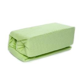Okko Bed Sheet Terry Green 160x200cm