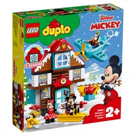 Konstruktors Lego Duplo Mickeys Vacation House 10889