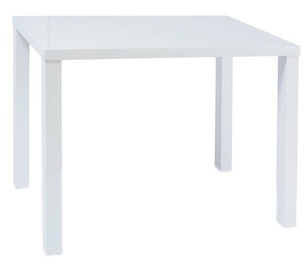 Pusdienu galds Signal Meble Modern Montego, balta, 800x600x750mm