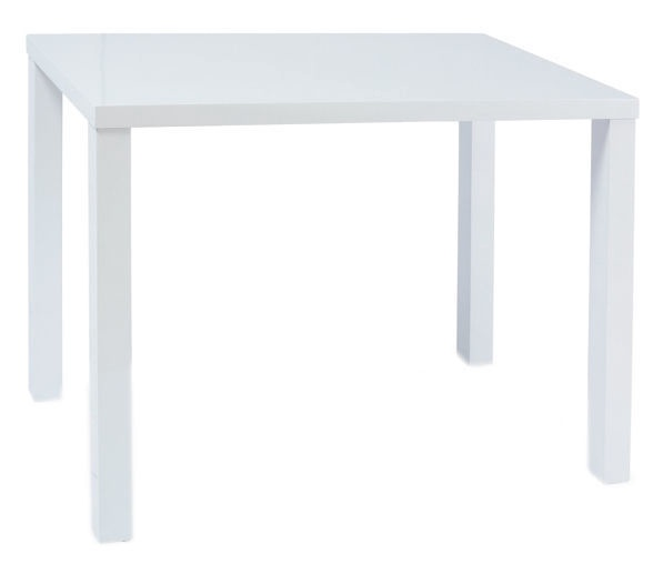 Обеденный стол Signal Meble Montego White, 800x600x750 мм