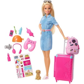 Lelle Mattel Barbie Travel And Accessories FWV25