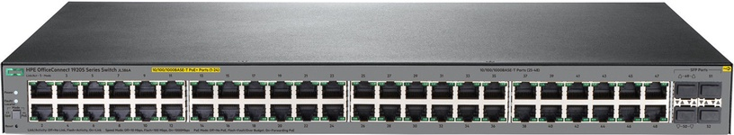 HP 1920S 48G 4SFP PPoE+ 48-port