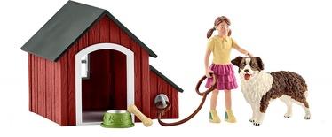 Schleich Dog Kennel Set 42376