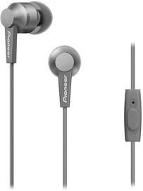 Наушники Pioneer SE-C3T in-ear, серый