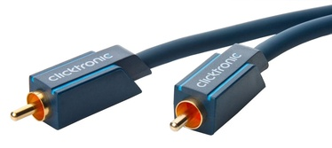 Clicktronic Cable RCA To RCA 2m Blue