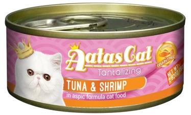 Aatas Cat Tantalizing Tuna & Shrimp 80g