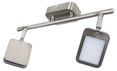 Gaismeklis Verners Yuna Spotlight 2x4W LED Nickel