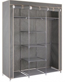 Шкаф тканевый, серый