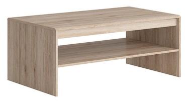 Kafijas galdiņš Black Red White Elpasso San Remo Oak, 1100x650x465 mm