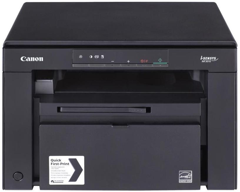 Многофункциональный принтер Canon I-SENSYS MF3010, лазерный