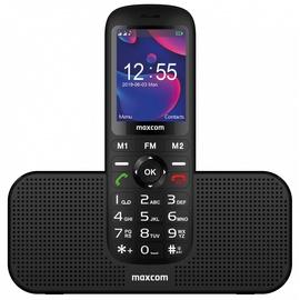Mobilais telefons Comfort Maxcom Comfort MM720, melna