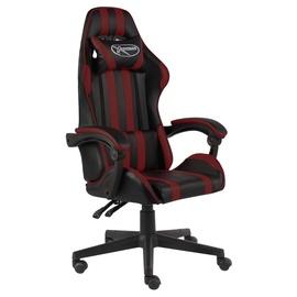 Spēļu krēsls VLX 20525, melna/bordo
