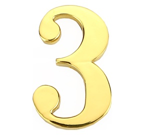 Номер DOOR NUMBER 3 GP-3 45MM