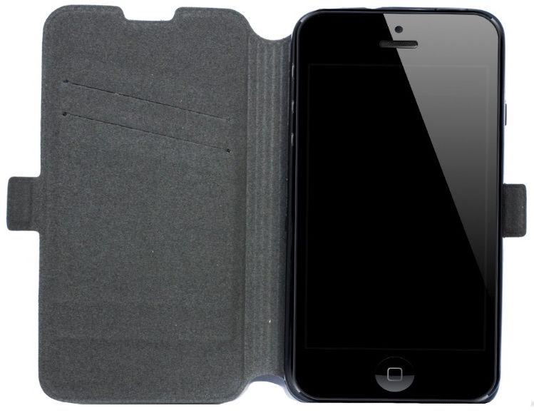 Telone Super Slim Shine Book Case Huawei Ascend Y635 Black