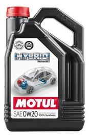 Машинное масло Motul Hybrid 0W20 0W - 20, синтетический, для легкового автомобиля, 4 л