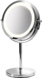 Kosmētiskais spogulis Medisana CM840 Chrome, ar gaismu, stāvošs, 13.5x31.5 cm