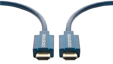 Clicktronic Cable HDMI To HDMI 5m Blue