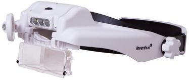 Увеличительные очки Levenhuk Zeno Vizor HR2 Head Rechargeable Magnifier