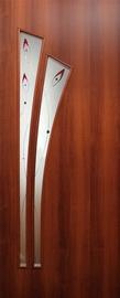 Durvis laminētas Palma 201x71x6cm, riekstkoka