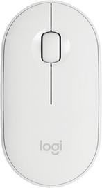 Datorpele Logitech Pebble M350, balta, bezvadu, optiskā