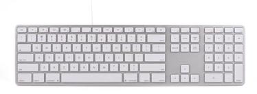 Matias Wired Aluminum Keyboard for Mac UK Silver