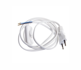 Okko Cable With Plug And Switch DS5/S05/04/HK-1 2x0.75 1.5m White