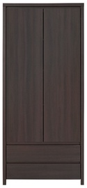 Black Red White Hallway Unit Kaspian 2 Wenge