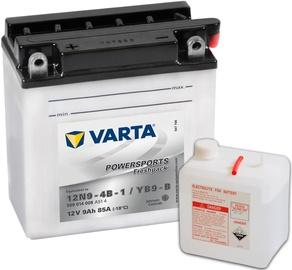 Akumulators Varta Powersports Freshpack SLI 12N9-4B-1 / YB9-B, 12 V, 9 Ah, 85 A