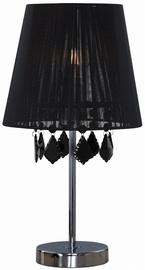 Light Prestige Mona 60W E27 Small Desk Lamp Black