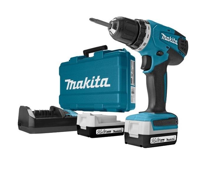Akumulatora skrūvgriezējs - urbis Makita DF347DWE