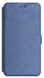Mocco Shine Book Case For Samsung Galaxy A6 A600 Blue