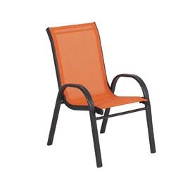 Садовый стул Home4you Dublin Kid, oранжевый, 36 см x 46 см x 59 см