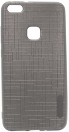 Mocco Cloth Texture Back Case For Huawei P10 Lite Grey