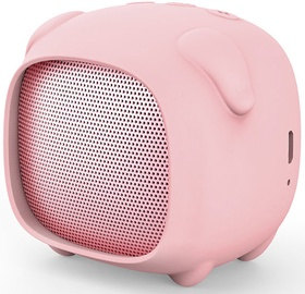Bezvadu skaļrunis Forever ABS-200 Milly Pink, 3 W