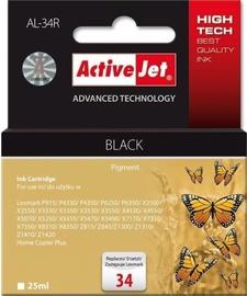 ActiveJet Ink Cartridge For Lexmark 25ml Black