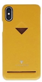 Vix&Fox Card Slot Back Shell For Apple iPhone X/XS Yellow