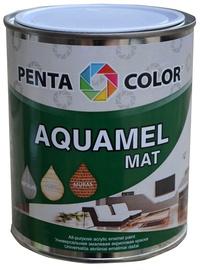 Pentacolor Aquamel Mat Emulsion Paint Brown 0.7kg