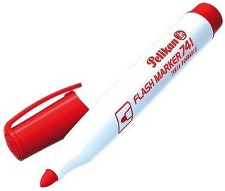 Baltās tāfeles marķieris Pelikan Marker 741, sarkana