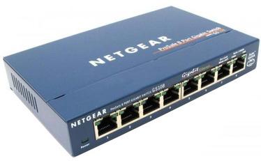 Tīkla centrmezgls Netgear ProSafe GS108GE
