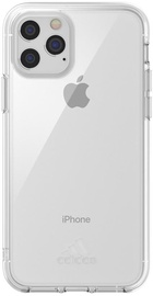 Adidas Protective Small Logo Back Case For Apple iPhone 11 Pro Transparent