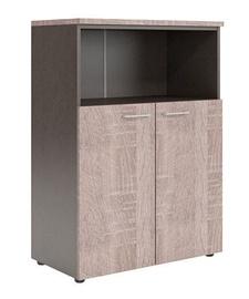 Skyland Wave WMC 85.3 Office Cabinet Sonoma Oak/Legno Dark