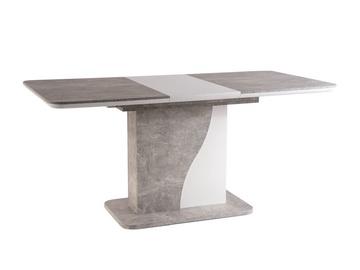 Обеденный стол Signal Meble Syriusz Concrete, 1200x800x760 мм