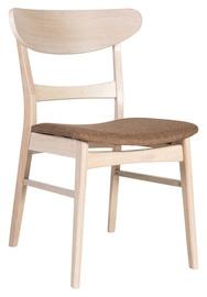 Ēdamistabas krēsls Home4you Violet Brown Antique 20994