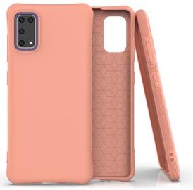 Fusion Solaster Back Case For Samsung Galaxy A41 Orange