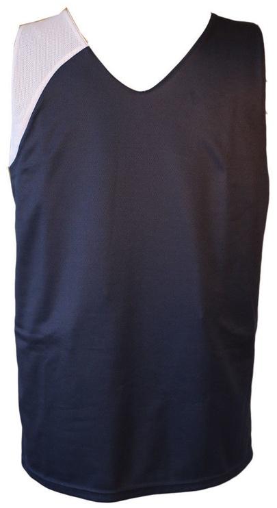 Bars Mens Basketball Shirt Dark Blue/White 32 134cm